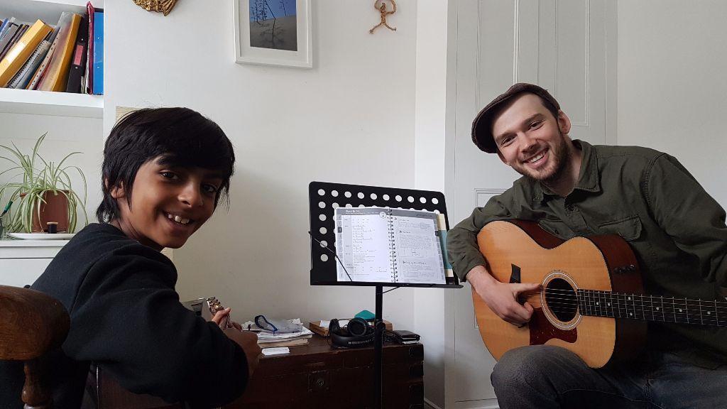 Ren teaching Faraz
